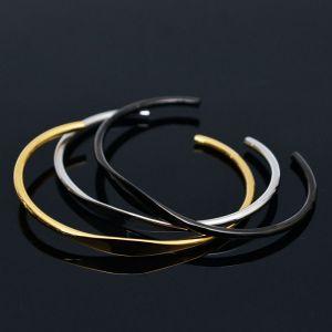 Stainless Steel Thin Cuff-Bracelet 208