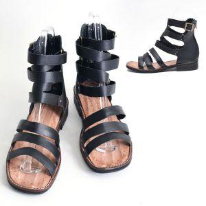 3 Strap Custom Gladiator Sandal-Shoes 430