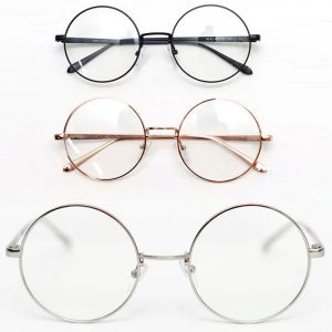 Chic Round Metal Frame-Glasses 23