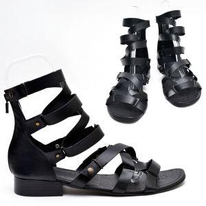 Premium Leather Sole Gladiator-Shoes 435