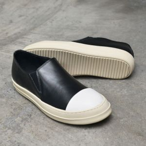 Contrast Toe Designer Slip On-Shoes 439