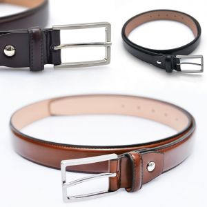 Must Enamel Volume Dress Belt-Belt 131