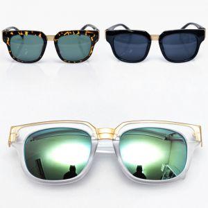 Fashionable Gold Bridge Square-Sunglasses 76