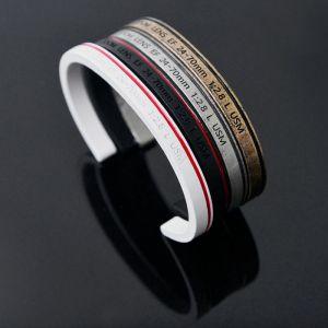 Camera Lense Wrist Bangle-Bracelet 219