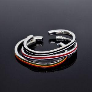 3 Color Taping Bendable Bangle-Bracelet 224
