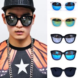 Hip Big Teardrop Gold Arm Mirror-Sunglasses 83