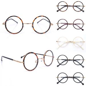 Euro Chic Gold Contrast Round-Glasses 25
