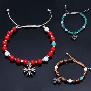 Vibrant Mix Gemstone Beads Tie Up-Bracelet 251