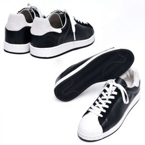 Suede Contrast Leather Sneakers-Shoes 481