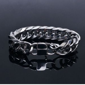Stainless Steel Chain Cuff-Bracelet 262