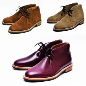 Timeless Smart Casual Chukka Boots-Shoes 494