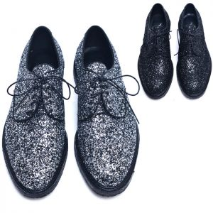 Glitter Encrusted Designer Oxford-Shoes 497