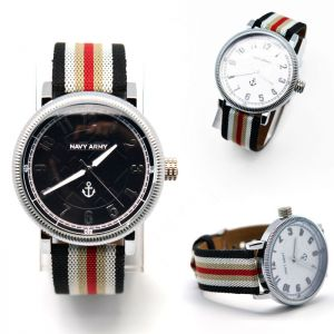 Striped Strap Uber Casual Naval-Watch 71