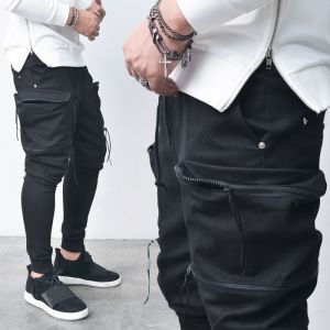 Double Zip Big Cargo Baggy Jogger-Sweatpants 244
