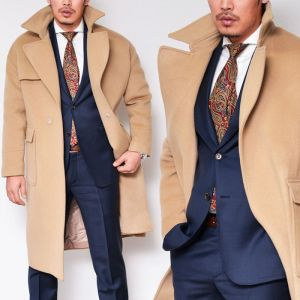 Hand-made Premium Wool Overcoat-Coat 109
