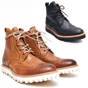 Premium Wingtip Urban Boots-Shoes 515