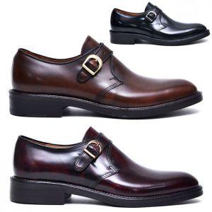 Premium Calf Gradation Classic Monk-Shoes 519