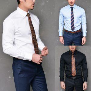 Slim Spandex Urban Basic Dress-Shirt 152