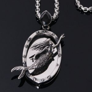 Stainless Steel Little Mermaid Chain-Necklace 262