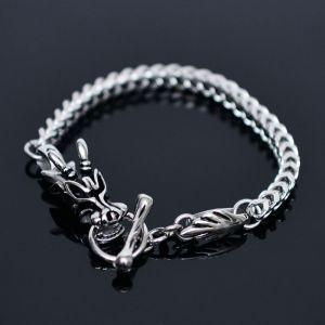 Stainless Steel Dragon Cuff-Bracelet 302