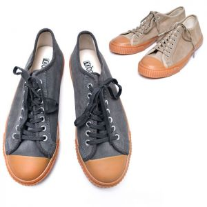 Contrast Toe Suede Sneakers-Shoes 542