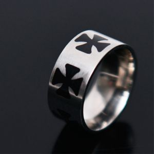 Gothic Cross Ring-Ring 55