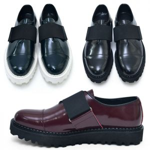 Bandage Strap Custom Loafer-Shoes 428