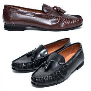 Versatile Leather Tassel Loafer-Shoes 569