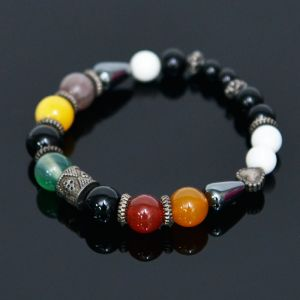 Mix Color Orion Gemstone Beads-Bracelet 380