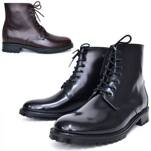 Mid-length City Combat Boots-Shoes 578