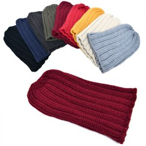 Chunky Knit Beanie-Hat 70