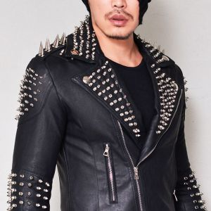 Spike Armor 100% Lambskin-Leather 113