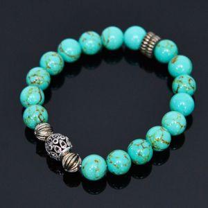 Antique Hawlite Beads-Bracelet 400