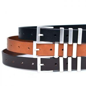 Matt 3 Buckle Unisex-Belt 158