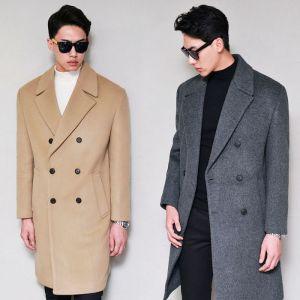 6 Color Premium Cashmere Wool Double-Coat 120