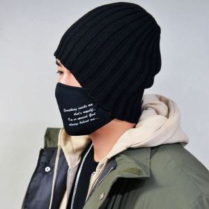 Lettering Cotton Mask-Gadget 86