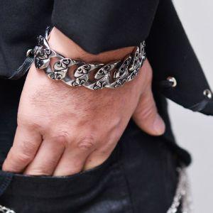 Tough 100% Steel Spear Cuff-Bracelet 406
