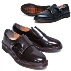 Cross-trend Dandy Double Monk-Shoes 615