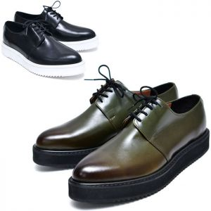 Gradation Lace-up Creeper-Shoes 621
