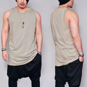 Overfit Extra Long Undershirt-Tank 182