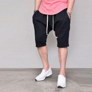 Drop Baggy Jersey Shorts-Shorts 136