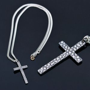 Stone Cross Chain-Necklace 322
