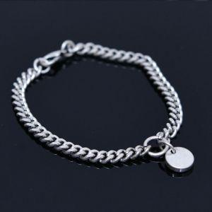 Circle Charm Chain Cuff-Bracelet 435