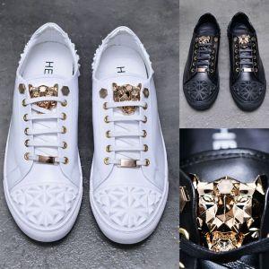 Diamond Quilting Gold Jaguar-Shoes 656