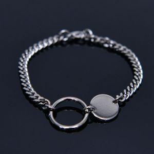 Ring Coin Metal Cuff-Bracelet 449