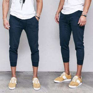 Daily Cropped Jersey Sweats-Shorts 184