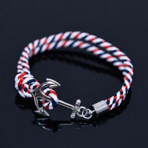 Anchor Braided Cuff-Bracelet 455