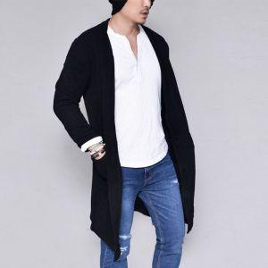 Daily Long Knit Jacket-Cardigan 236