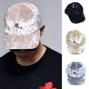 Velvet Flower Baseball Cap-Hat 99