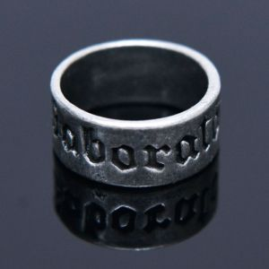 Antique Latin Lettering-Ring 84